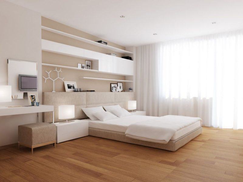 Master bedroom design modern