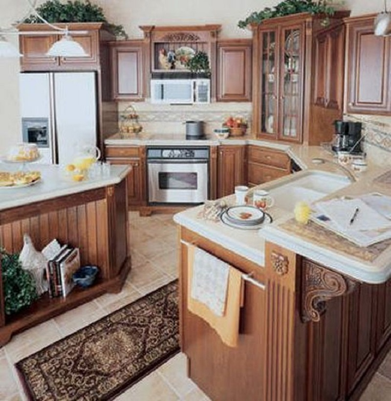 Kitchen design inspiration for your beautiful home - Country style kitchen cabinets ...
