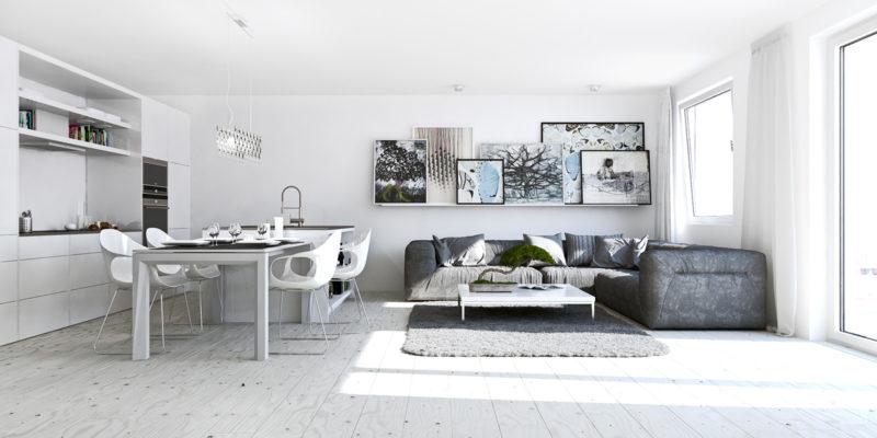 Compact studio apartment