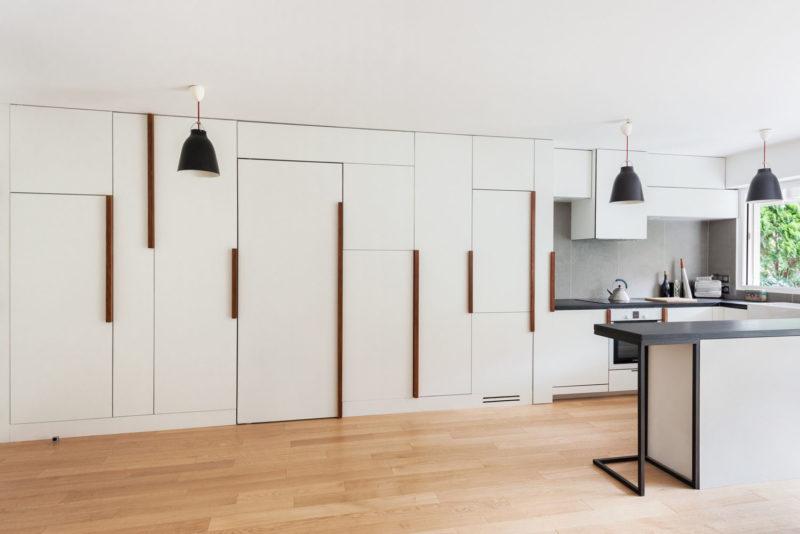 Hidden Storage idea for minimalist apartement