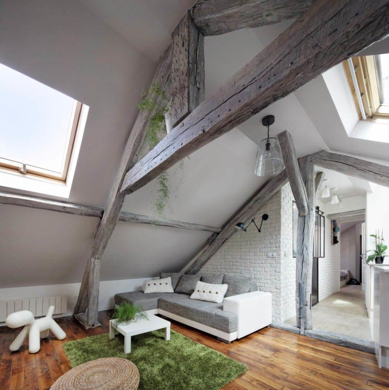 Mansard Apartment in Paris