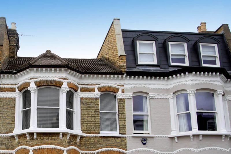 Mansard roof London
