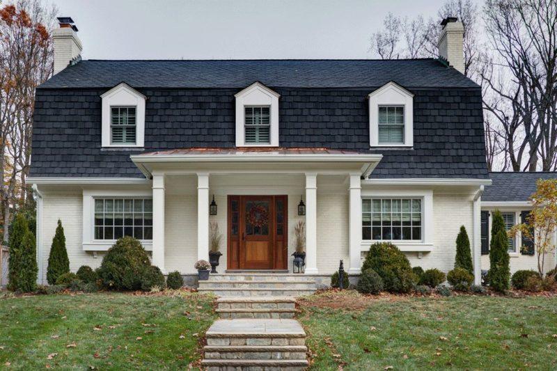 Mansard roof design