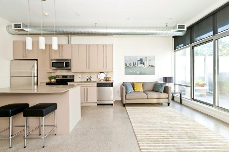 Studio apartment living