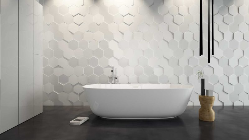 3d Tiles for Bathroom