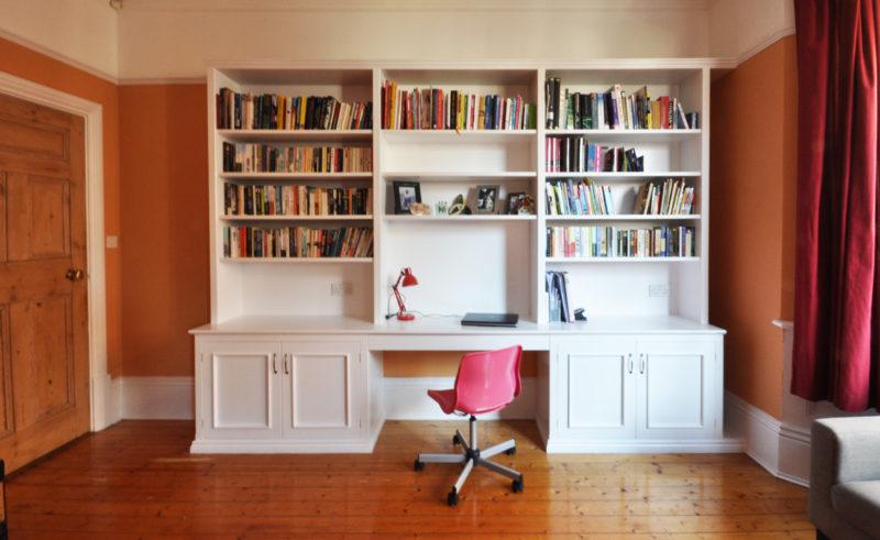 bookshelf desk built bookcases bookcase metal build studs outdoor kitchen decorate shelves dogfederationofnewyork