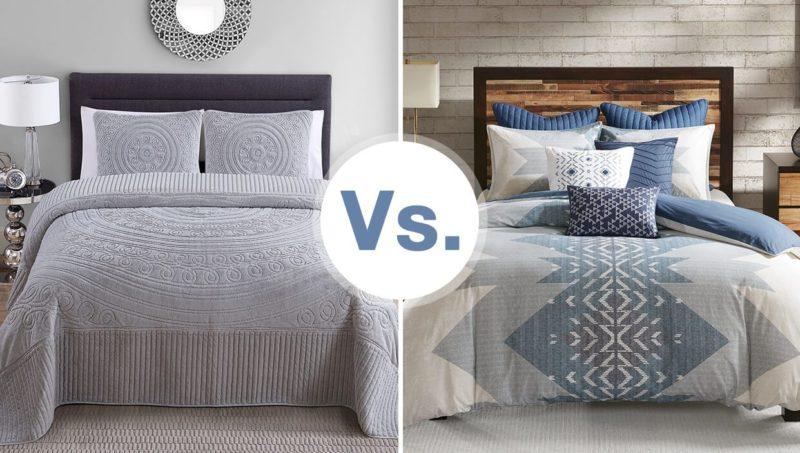 Comforter vs Duvet