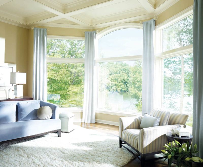 Floor to ceiling windows ideas benefits and how to install for Curtains floor to ceiling windows