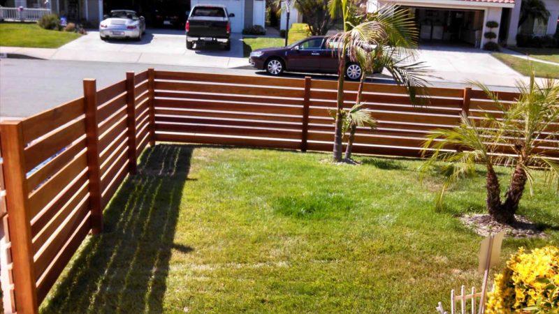 DIY fence