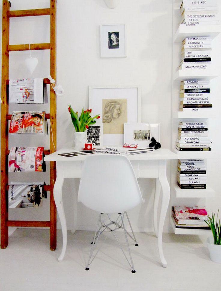 Vertical Shelf Desk