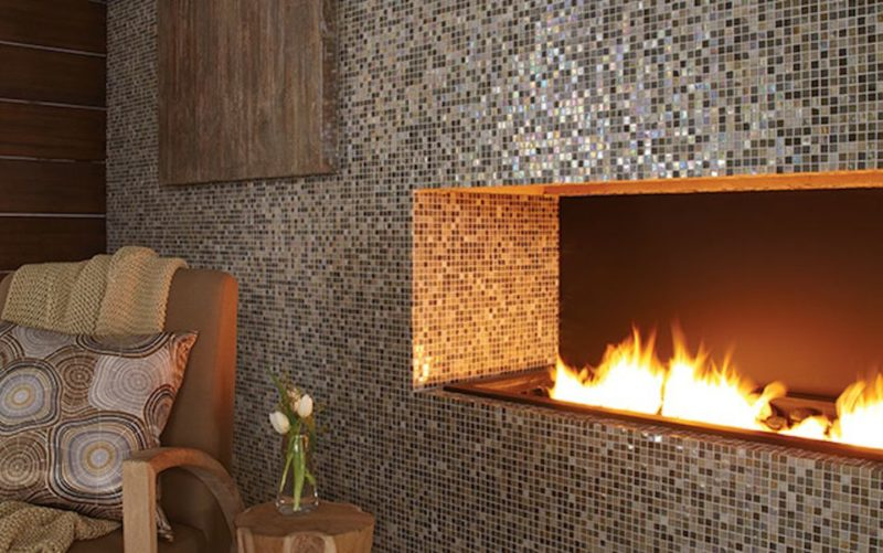 Use Tile on an Accent Wall
