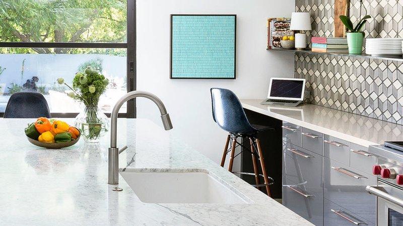 Kitchen Office Nook