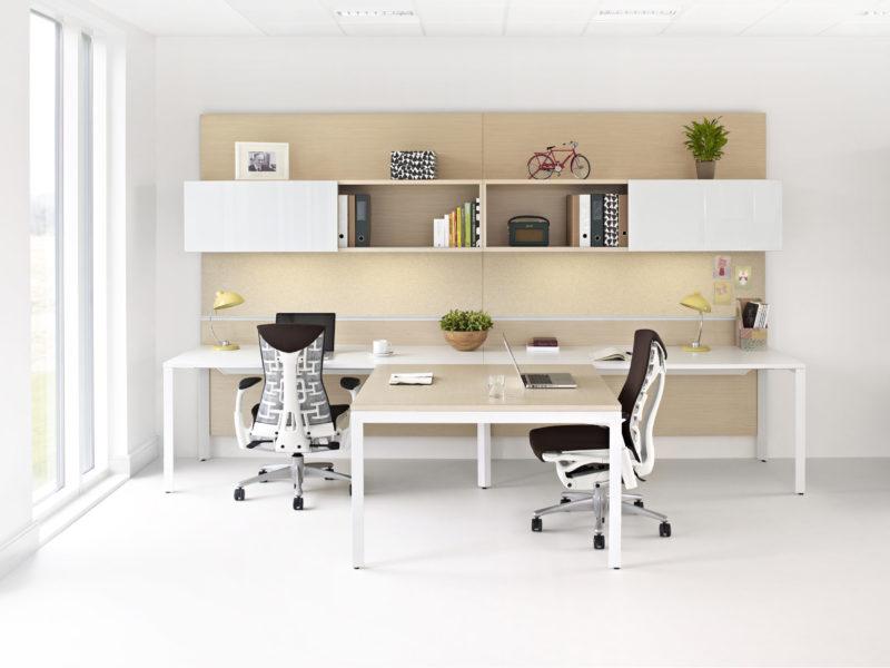 DIY Double Work Desk Ideas