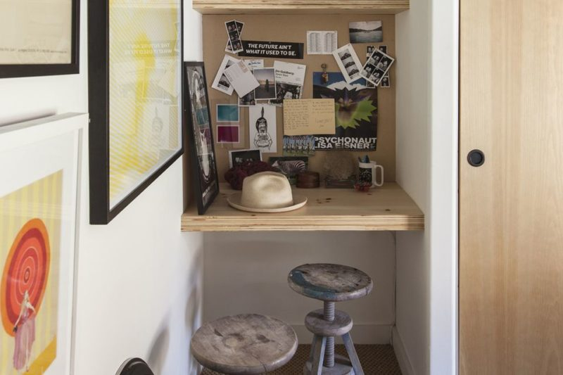 Clever Office Nook