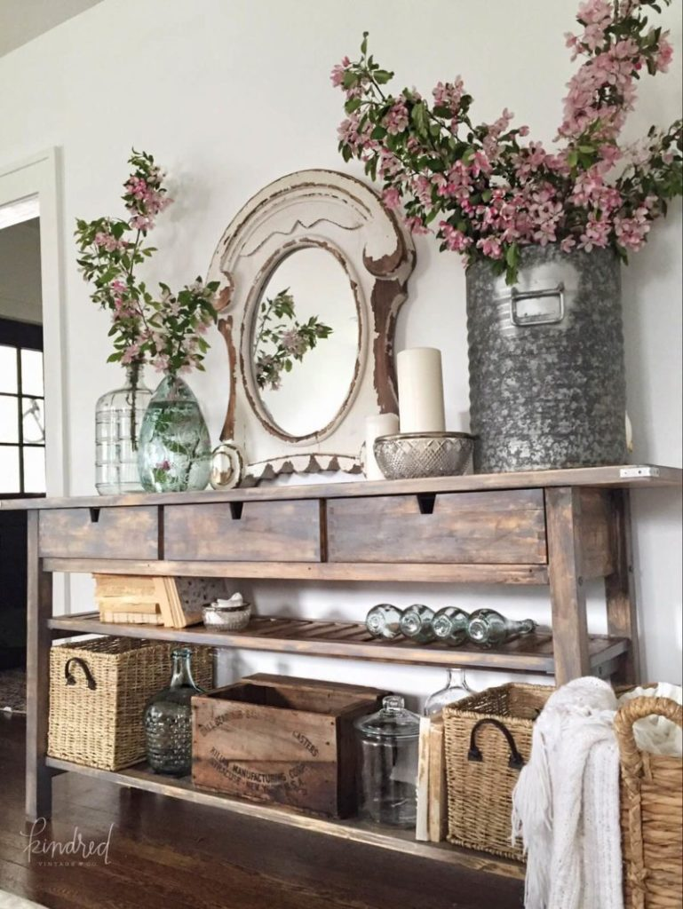 Rustic Apothecary Style