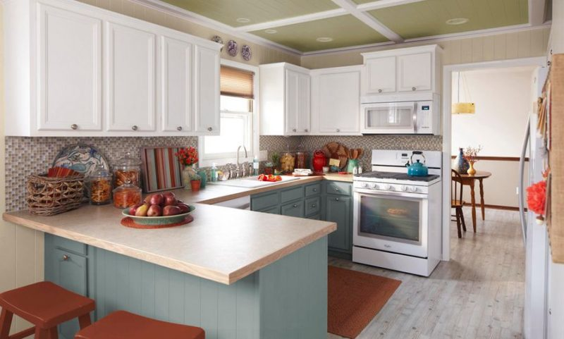 sweet designs kitchen 39 two tone kitchen cabinets ideas that really cool 2634