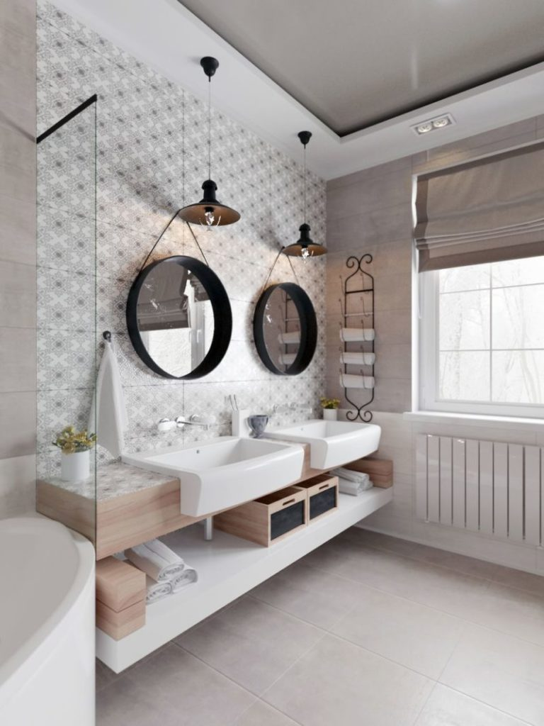 Sweet Scandinavian Bathroom