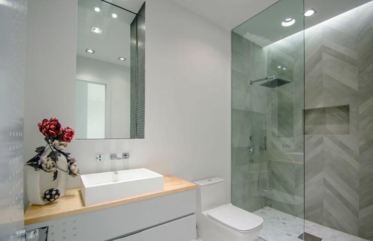Minimalist Half Bathroom Idea