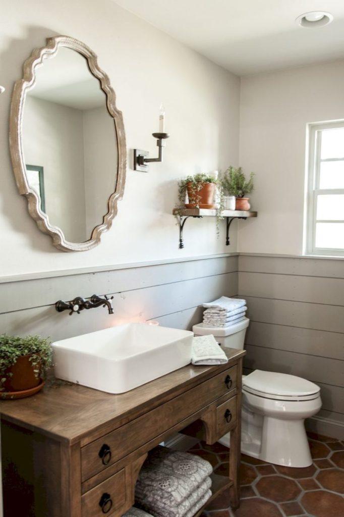 Rustic Half Bathroom Ideas