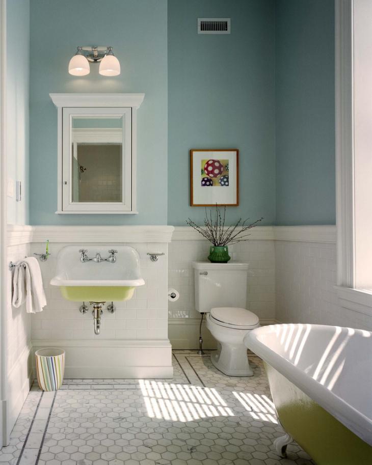 Classic Half Bathroom Idea