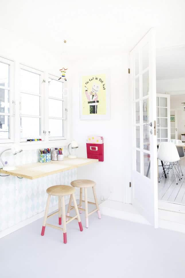 Space scandinavian interior design