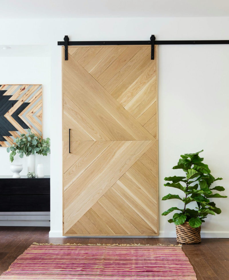 Use light, natural wood