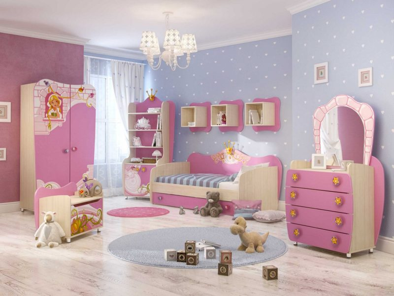 Paint The Furniture Girls Room