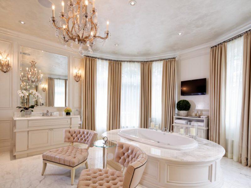 Window Treatment Ideas for Master Bathroom