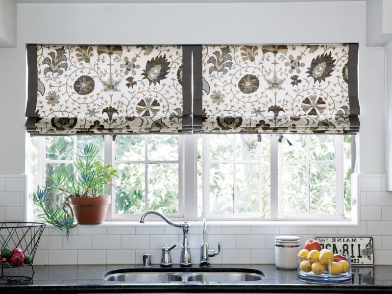 Kitchen Window Treatment Patterns