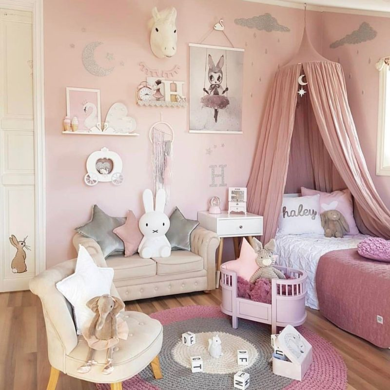 Toddler Bedroom Wall Art Simple Bedroom Curtain Ideas Images Of Bedroom Design Creative Bedroom Wall Decor Ideas: 14 Girls Room Decor Ideas
