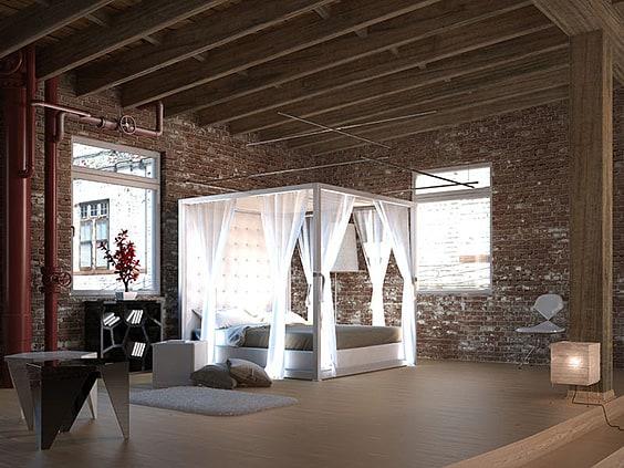 Elegant Canopy Bed