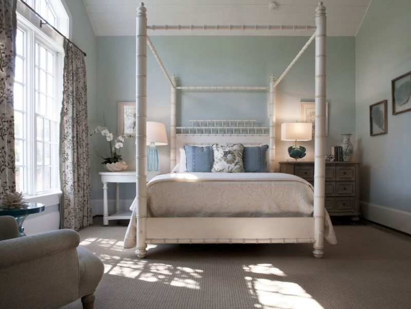 Bamboo Canopy Bed