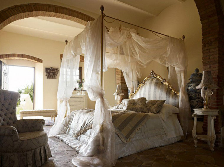 Winter Canopy Bed