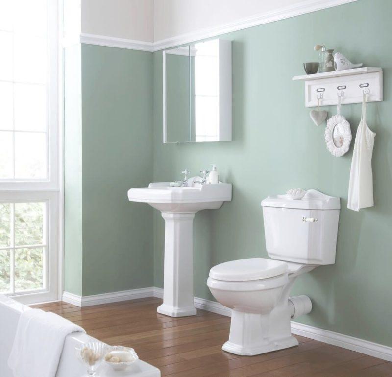 Go Green upgrade bathroom