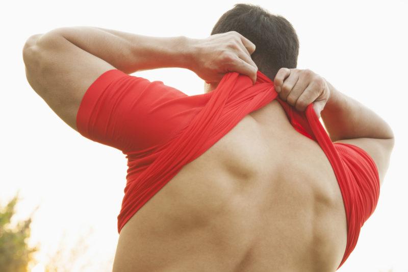 Rhomboid pain