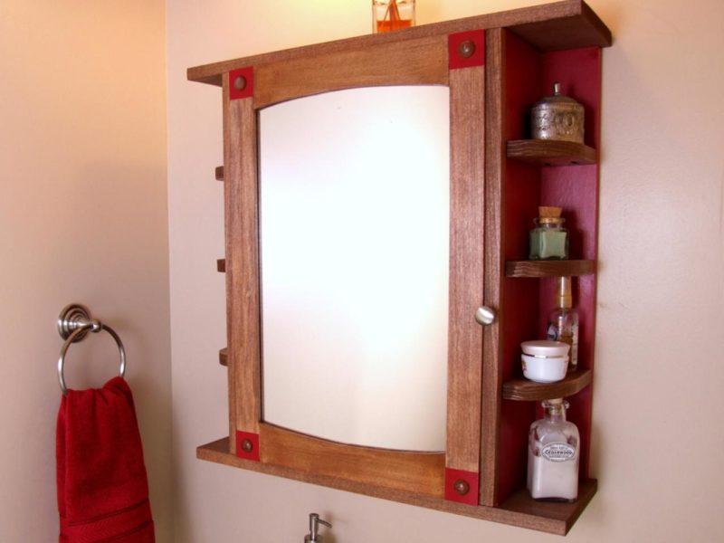 DIY Wooden Medicine Cabinet