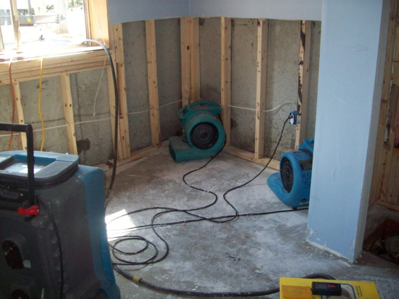 Drying Your Basement